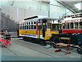 SK3454 : Portuguese tram at Crich Tramway Exhibition by Eirian Evans