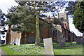SK7624 : St Egelwin's Church and churchyard by Roger Templeman