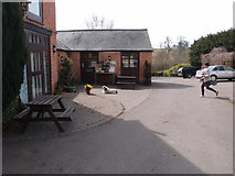 SP7896 : Coffee Shop at the Bewicke Arms by Michael Trolove