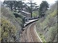 SW7839 : Perranwell railway station, Cornwall by Nigel Thompson