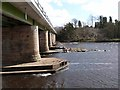 NZ1164 : Upstream side of Wylam Bridge by Oliver Dixon