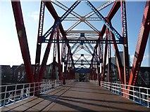SJ8097 : Detroit Bridge, Salford Quays by Christine Johnstone