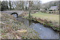 SN0322 : Pont Crwca and Afon Syfynwy by Philip Halling