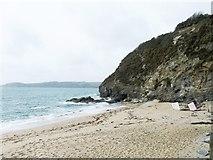 SX0551 : Crinnis Beach by Alex McGregor