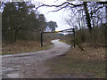 TM4670 : Entrance to the Car Park/Picnic Area by Adrian Cable