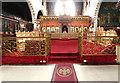 TQ3189 : St John the Baptist, Wightman Road - Chancel by John Salmon
