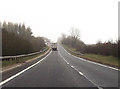SO9906 : A417 layby just north of Quarry junction by John Firth