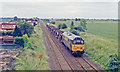 TF2035 : Great Northern & Great Eastern Line at Donington Road (with train), 1992 by Ben Brooksbank
