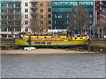 TQ3078 : Tamesis, Albert Embankment by David P Howard