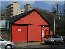 NS5566 : A red shed by Thomas Nugent