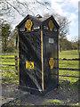 SJ7281 : The AA Box at Mere Corner by David Dixon