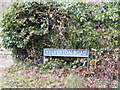 TG2702 : Yelverton Road sign by Adrian Cable