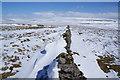 SE0068 : Drifting snow by walls on Kelber by Bill Boaden