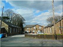SJ4586 : Former school, Halewood by John Lord