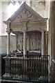 SP0601 : Holy Rood church, Ampney Crucis - tomb-chest of George Lloyd & wife by Mike Searle