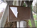 TM0878 : Notice Board of St.Mary the Virgin Church, Wortham by Adrian Cable