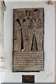 SO7993 : All Saints church, Claverley - incised slab to Francis Gatacre & wife by Mike Searle