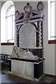 SO7588 : St Andrew's church, Quatt - monument to Mary Wolryche by Mike Searle