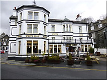 NY3704 : The White Lion, Ambleside by Kenneth  Allen