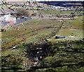 SO1205 : Narrow drainage channel, Pontlottyn by Jaggery