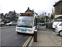 NY3704 : Bus for Keswick by Kenneth  Allen