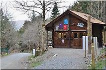 NT2840 : Go Ape ticket office, Glentress by Jim Barton