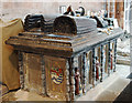 SJ4912 : Holy Cross Abbey church, Shrewsbury - tomb-chest of Richard Onslow & wife by Mike Searle