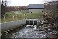 NN3320 : Power house and outflow, Allt Fionn Ghlinne by Dorothy Carse