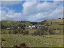 SJ1733 : The settlement of Tregeiriog by John Haynes