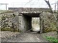 SJ9493 : Railway bridge near Thistley Fields by Gerald England