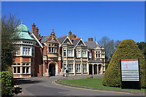 SP8633 : The Bletchley Park mansion by Roger Davies