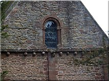 SO4430 : The west window of Kilpeck church by David Smith