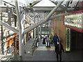 NT2573 : Waverley Steps and escalator by M J Richardson