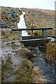 SX5771 : Sluice at Meavy Aqueduct by Graham Horn