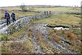 SX5671 : Devonport Leat crossing a small valley by Graham Horn