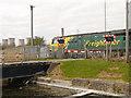 SJ5586 : Level Crossing, Fiddler's Ferry by David Dixon