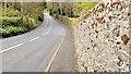 J5282 : Boundary wall, Ballymacormick, Bangor by Albert Bridge
