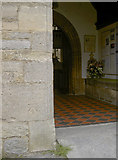 ST3049 : St Andrew's benchmark by Neil Owen