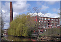 SJ9598 : Clarence Mill by Stephen Burton