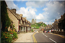 SY9682 : East Street, Corfe Castle by Phil Champion