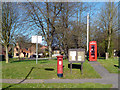 SU8184 : Mail Box, Phone Box and Notice Board by Des Blenkinsopp