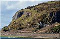 J4791 : Cliffs, Whitehead by Albert Bridge