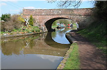 SO9969 : Bridge 56, Worcester and Birmingham Canal by Philip Halling