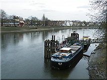 TQ1977 : Kew Pier by Anne Burgess