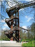TQ1876 : Treetop Walkway by Anne Burgess
