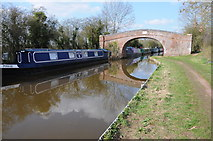 SO9262 : Bridge 34, Worcester and Birmingham Canal by Philip Halling