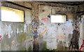 J4972 : WWII pillbox, Newtownards (inside view -1) by Albert Bridge