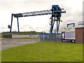 SJ5084 : Stobart Rail Freight Terminal, Widnes by David Dixon