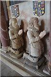 TQ9644 : Humphrey & Richard Tufton on Sir John Tufton Tomb by Julian P Guffogg