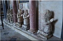 TQ9644 : The Tufton Sons, Sir John Tufton tomb, Hothfield church by Julian P Guffogg